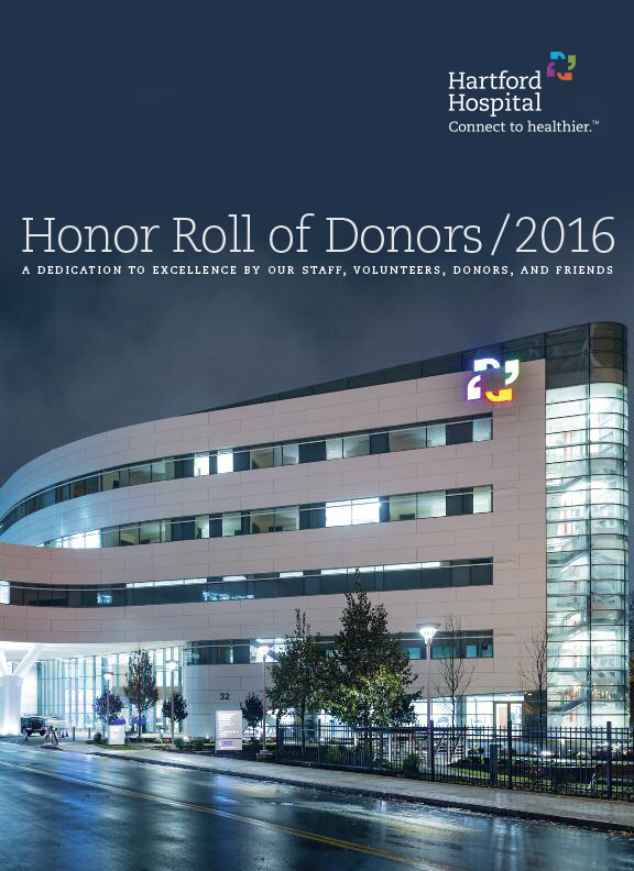 2016 Honor Roll of Donors